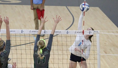 Lasell Women's Volleyball drops pair at Western Connecticut Tournament