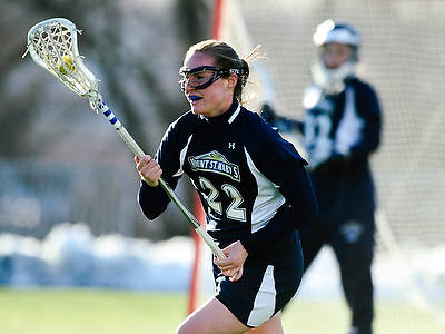 Semler's Four Tallies Surges Women's Lacrosse Past Wagner 13-4 For Fourth-Straight Win