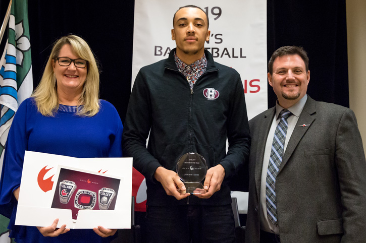 Colley named CCAA Player of the Year