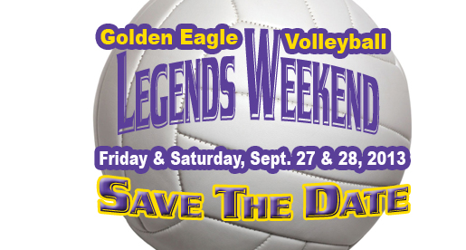 Alumni invited to Golden Eagle Volleyball Legends weekend