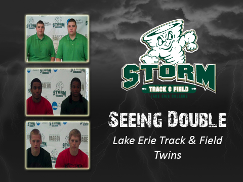 Seeing Double: The Lake Erie Track and Field Twins