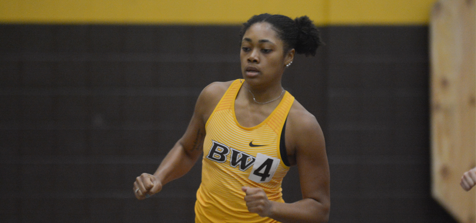 Sophomore All-OAC sprinter Ky'leana Allen won the 400-meter dash in a career-best time (Photo courtesy of Milton Woods)