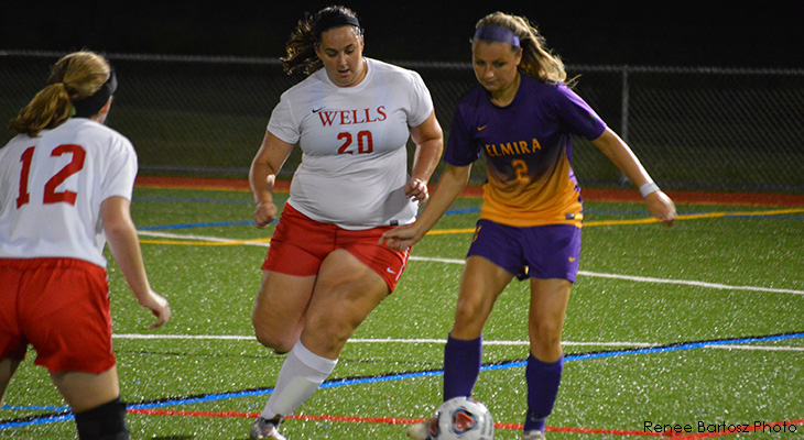 Elmira Runs Past Wells Women's Soccer