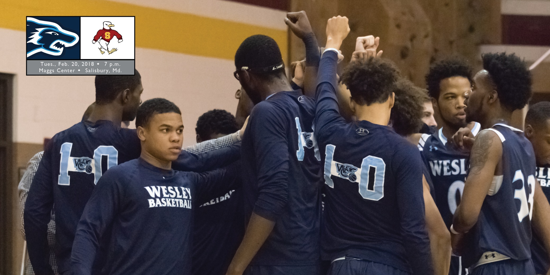 Sixth-seeded men's basketball must be 'road warriors' in CAC Championship Tournament