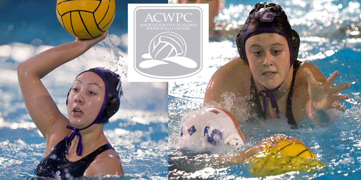 Anastacia Gonzalez and Kendyl Riley named ACWPC All-Americans