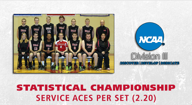 Men's Volleyball Nets NCAA Division III Statistical Championship