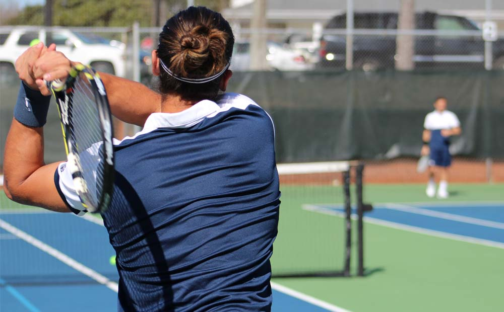 Augusta Men's Tennis Crushes Concord, 9-0