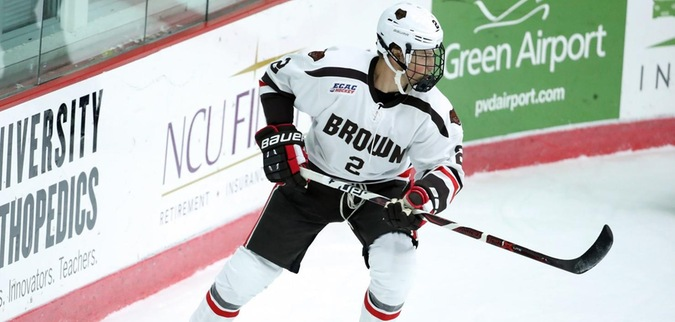 Brown downs Dartmouth at Home