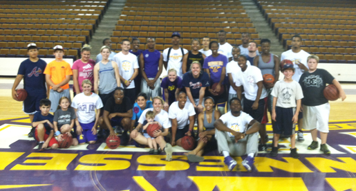 Golden Eagles host kids of Mustard Seed Ranch at Eblen Center