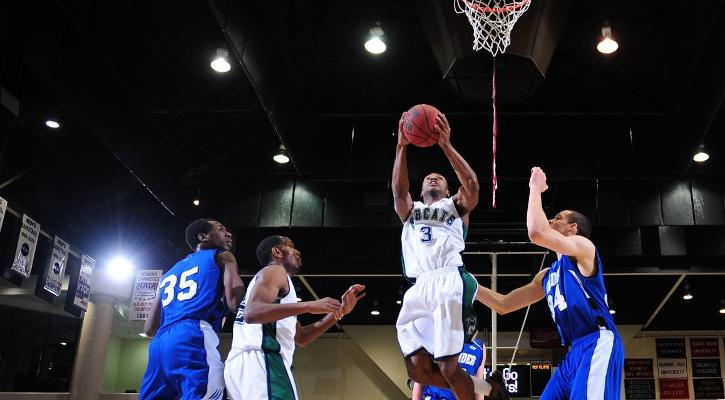 Bobcat Men Edged by Lander on Senior Day, 74-69