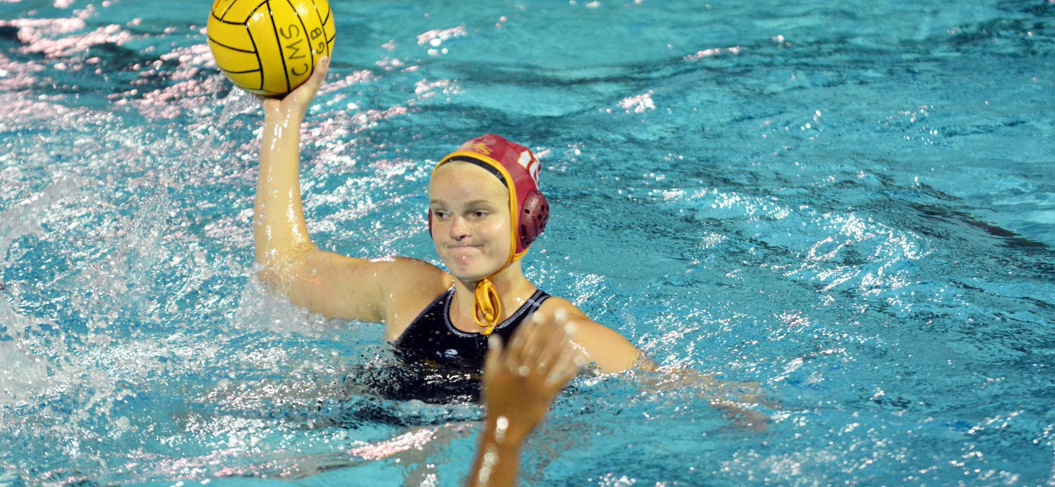 Anna Fry, Jessica Salaz Help CMS Women's Water Polo to Big Road Win over Whittier