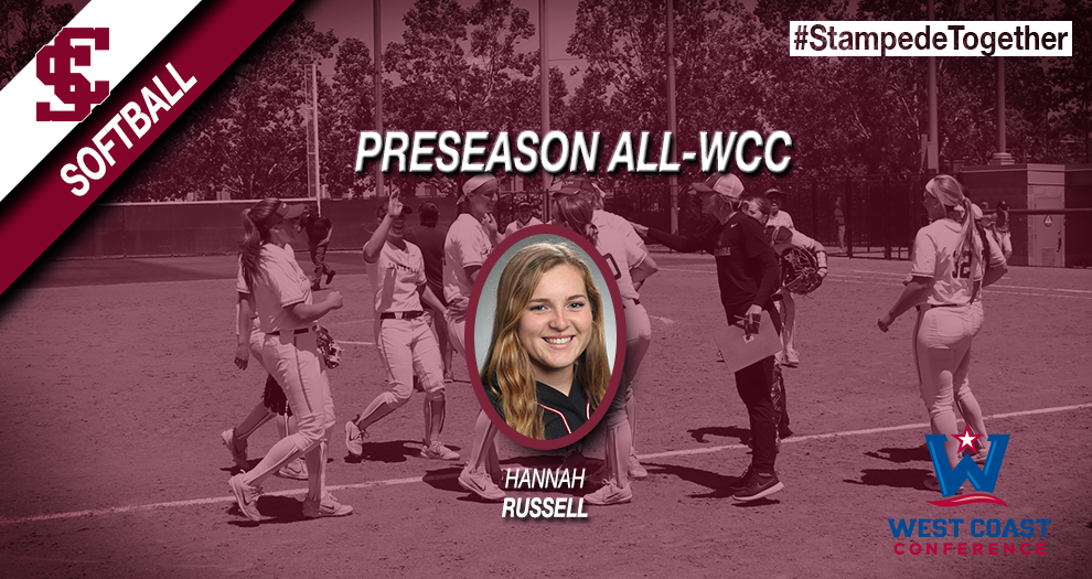 Hannah Russell Named Softball Preseason All-WCC