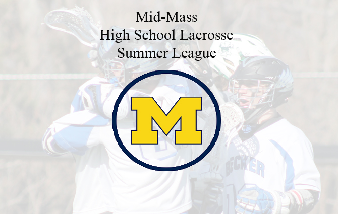 Sign Up Now For The Mid-Mass High School Lacrosse Summer League