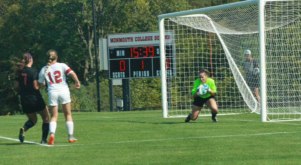 Women's soccer falls short at Monmouth
