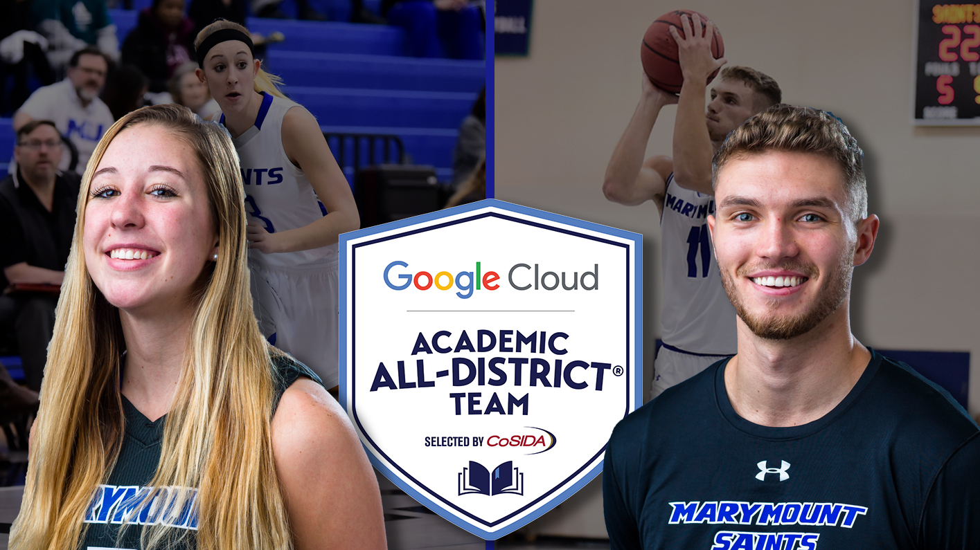 Lohr, Rogers named to CoSIDA Academic All-District teams