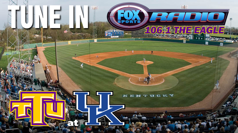 Tuesday's baseball game at Kentucky to be broadcast on Golden Eagle Sports Network
