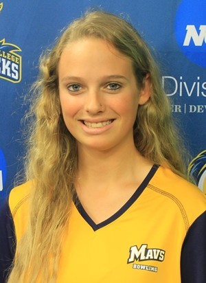 Elizabeth Minnard, Medaille College, Co-Newcomer of the Year