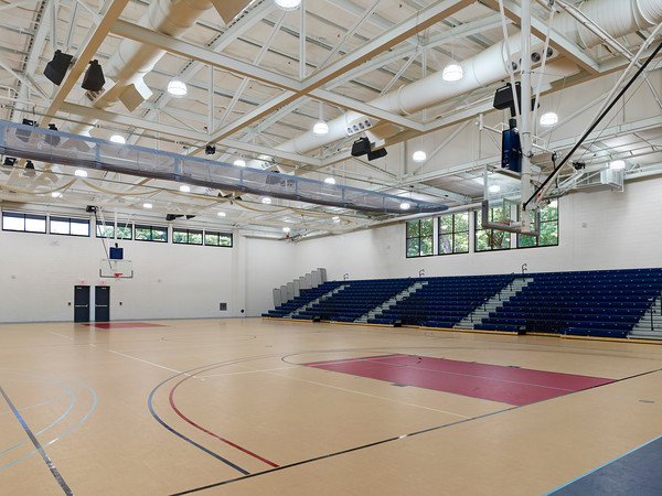 Brookdale recreation and events center brookdale athletics Indoor basketball court ceiling height