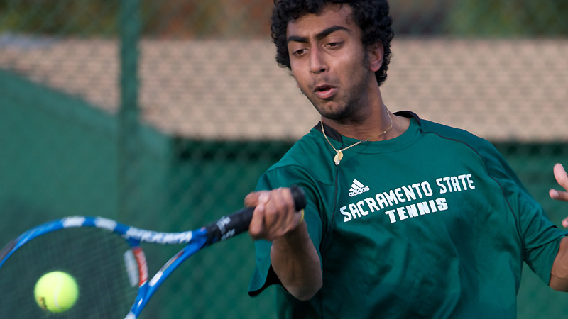 MEN'S TENNIS CRUSHES PREVIOUSLY UNBEATEN MONTANA STATE