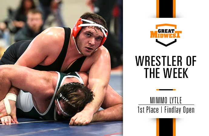 Lytle Named Great Midwest Wrestler of the Week