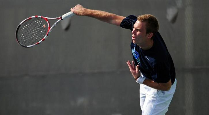 Men's tennis starts season with 9-0 win