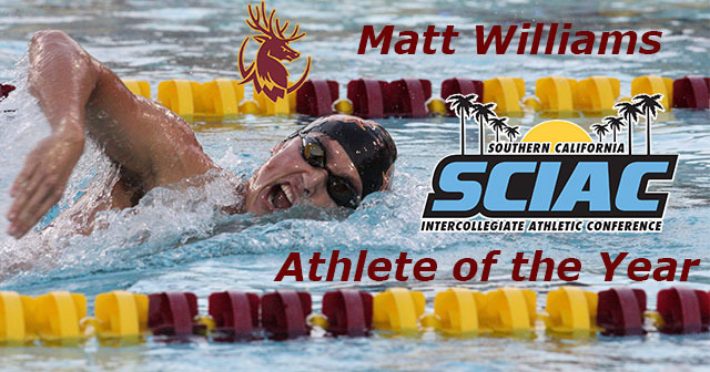 SCIAC All-Conference Honors:  Men's Swimming and Diving