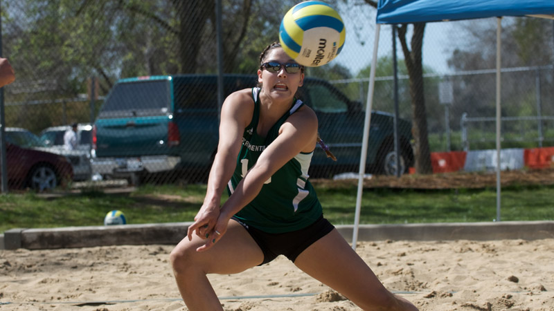 SAND VOLLEYBALL DROPS HEARTBREAKER TO STANFORD, ALSO FALLS TO SAINT MARY'S