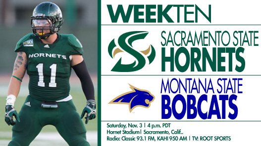 Football Plays Final Home Game Against No. 3 Montana State on Saturday