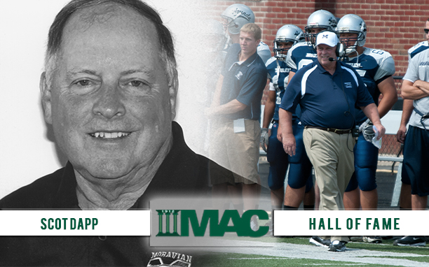 Scot Dapp selected to MAC Hall of Fame.