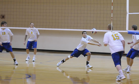 The Mount re-affirms its commitment to men's volleyball and playing in the CVC