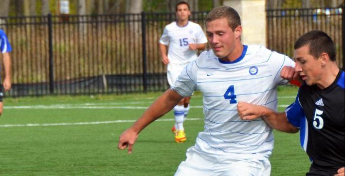 Vogel records third straight shutout as Men's Soccer plays to scoreless draw
