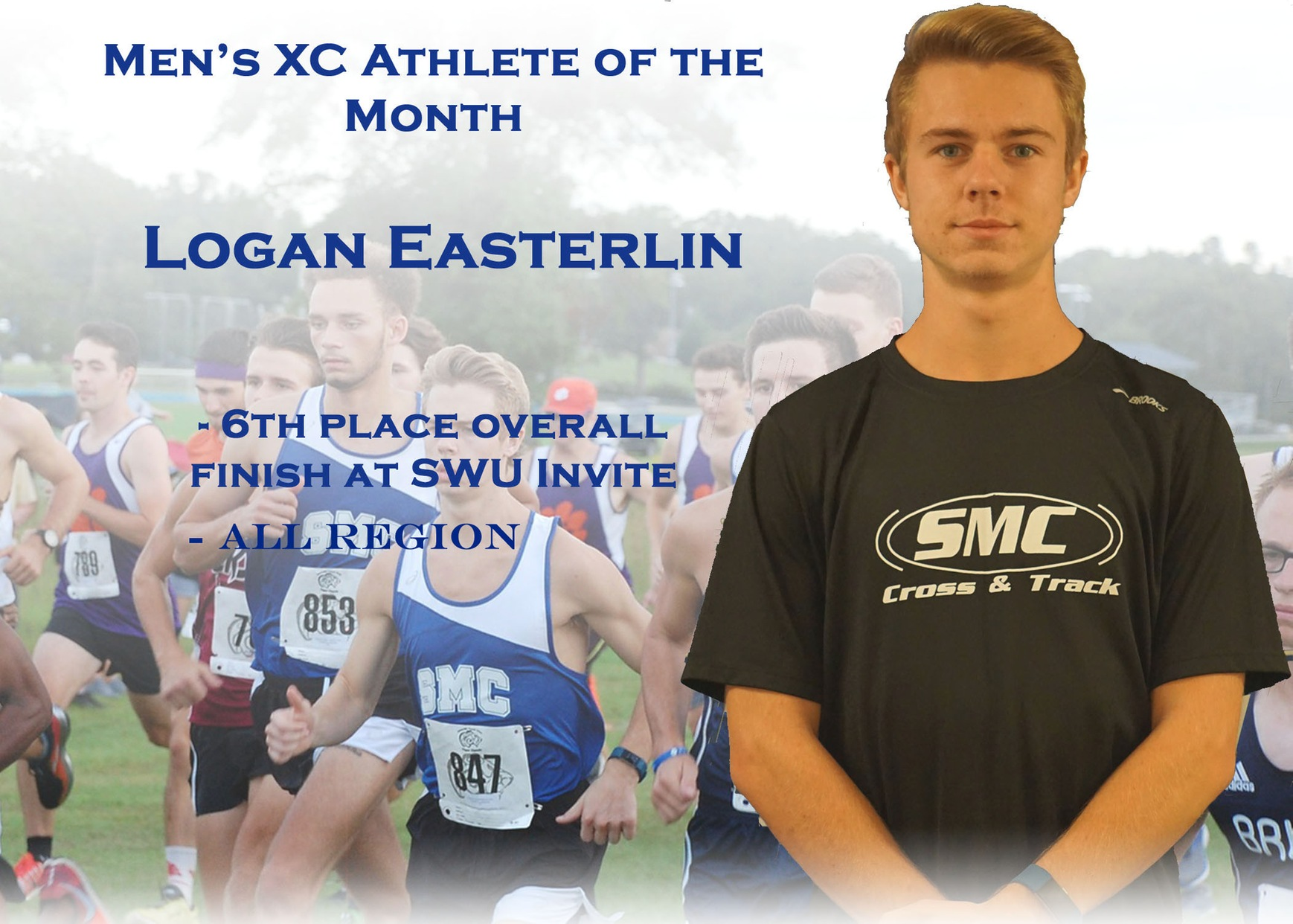 Men's XC Athlete of the Month