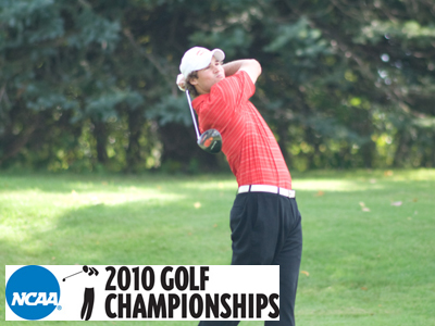 Senior Kurt Valley shot a two-over par 74 in Tuesday's second round is tied for 43rd place.  (Photo by Ed Hyde)