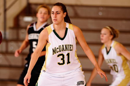 McDaniel upends Goucher