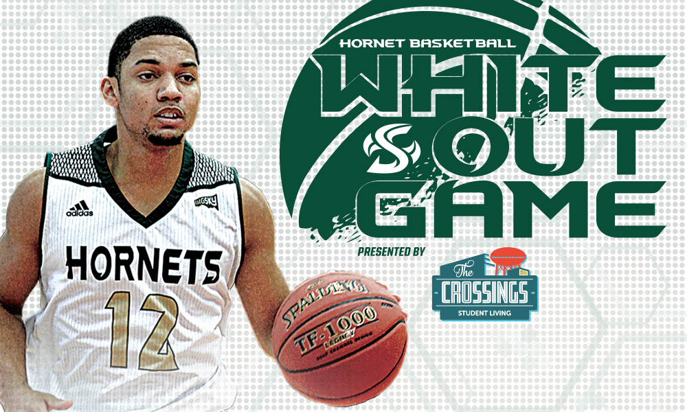 WHITEOUT THE NEST SET FOR SATURDAY'S MEN'S BASKETBALL GAME VS. WEBER STATE