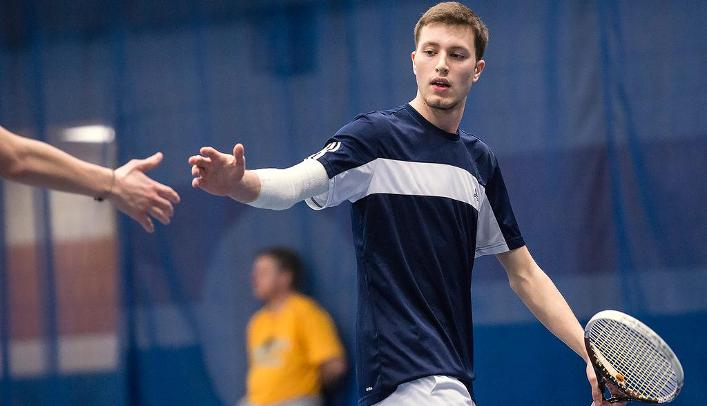 Men's Tennis Falls to Division II St. Cloud State