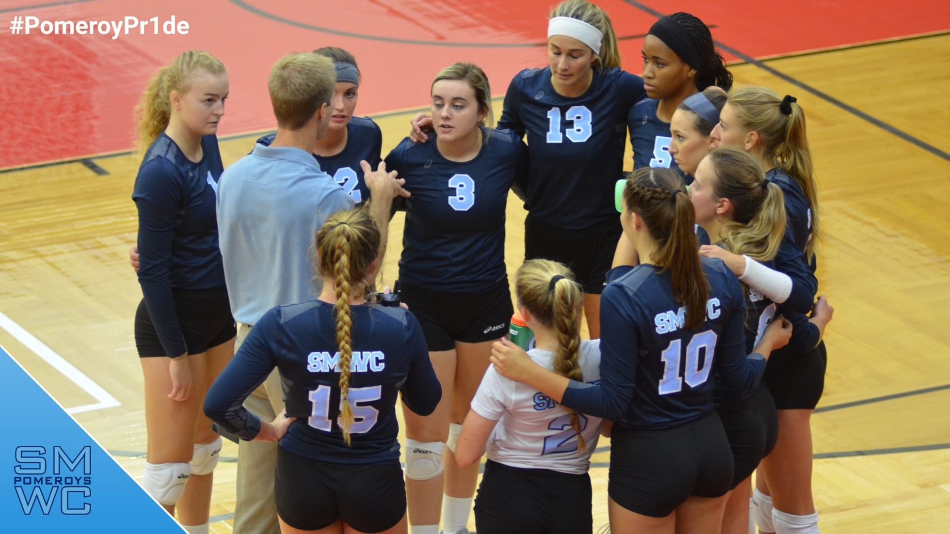 SMWC Volleyball Defeated by Rose-Hulman