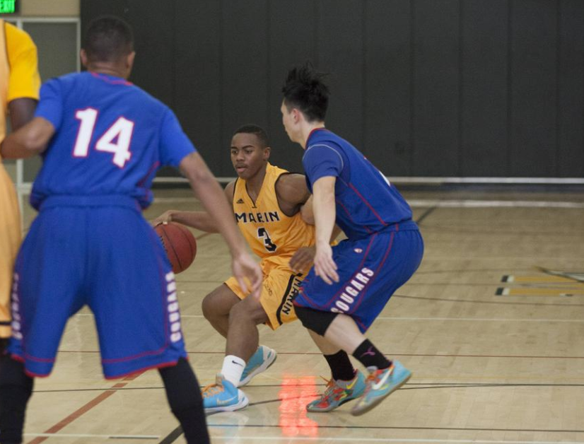 Men's Basketball Out Hustles Solano College in 79-70 Victory