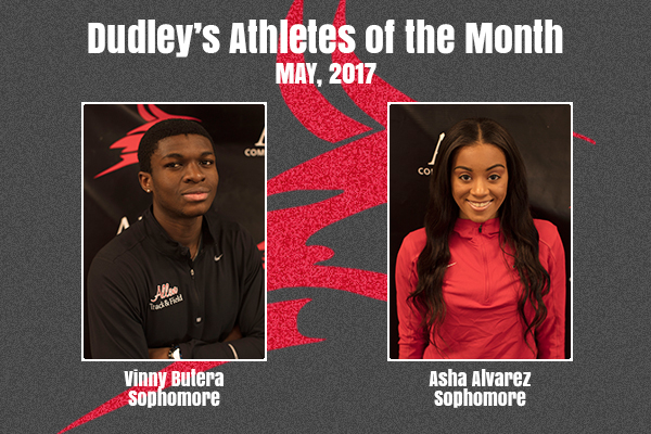 Dudley's May Athletes of the Month