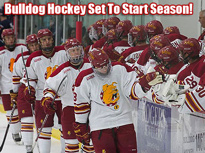 Ferris State Hockey Notes (Games 1-2)