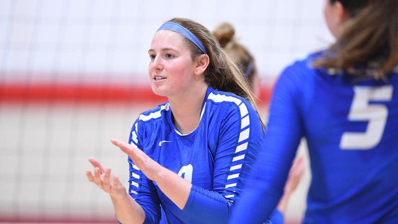 Volleyball Sweeps Fairleigh Dickinson on Saturday