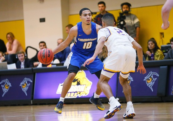 MEN'S HOOPS DRAINS 16 FROM DOWNTOWN IN 85-71 WIN OVER ANNA MARIA