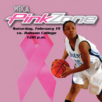 Basketball Team Joins the Pink Zone