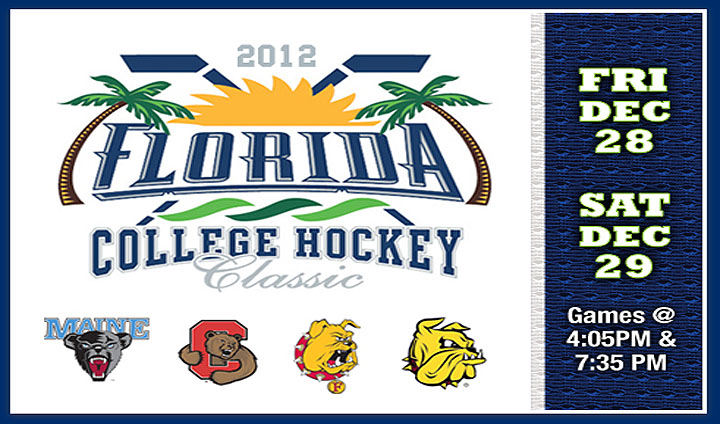 Ferris State Hockey Heads To Florida Tournament Dec. 28-29