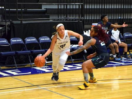 Women's Basketball Falls to PSU Brandywine, 68-53.