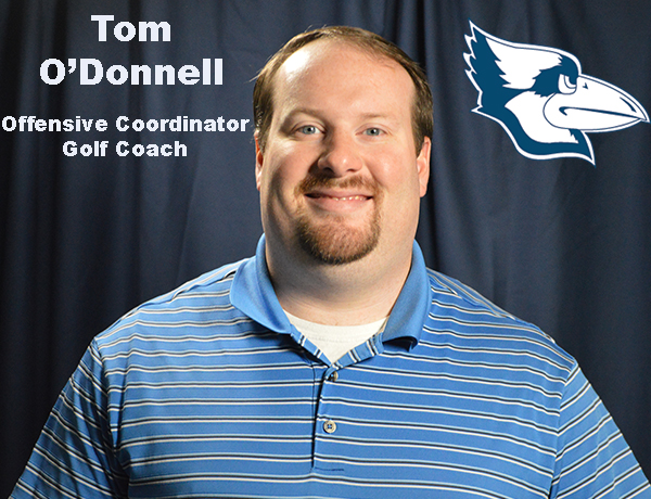 O'Donnell Announced as Offensive Coordinator and Head Golf Coach
