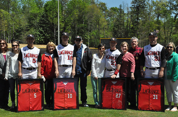 Baseball: Panthers celebrate Senior Day with 19-4 rout of Maryville for 14th straight win