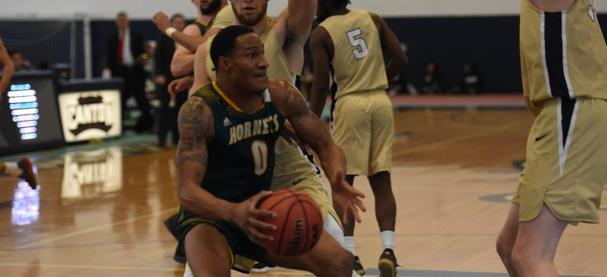 Hornet men drop a heartbreaker to SUNY Canton in double OT