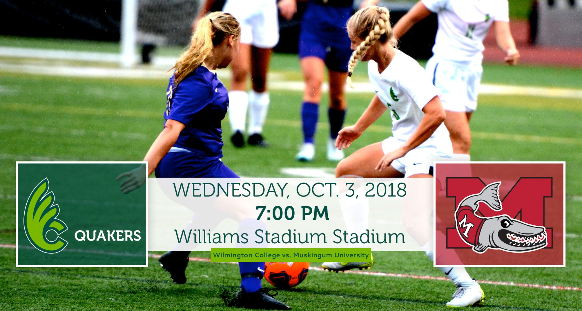 Women's Soccer Hosts Muskingum in OAC Action on Wednesday