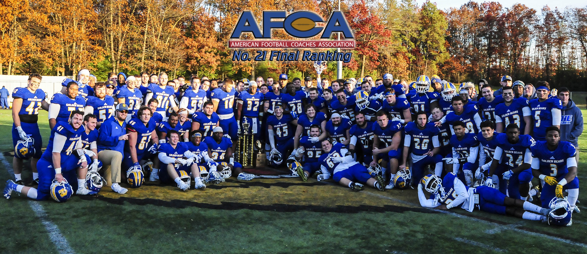 Golden Bears Ranked No. 21 in Final AFCA Poll